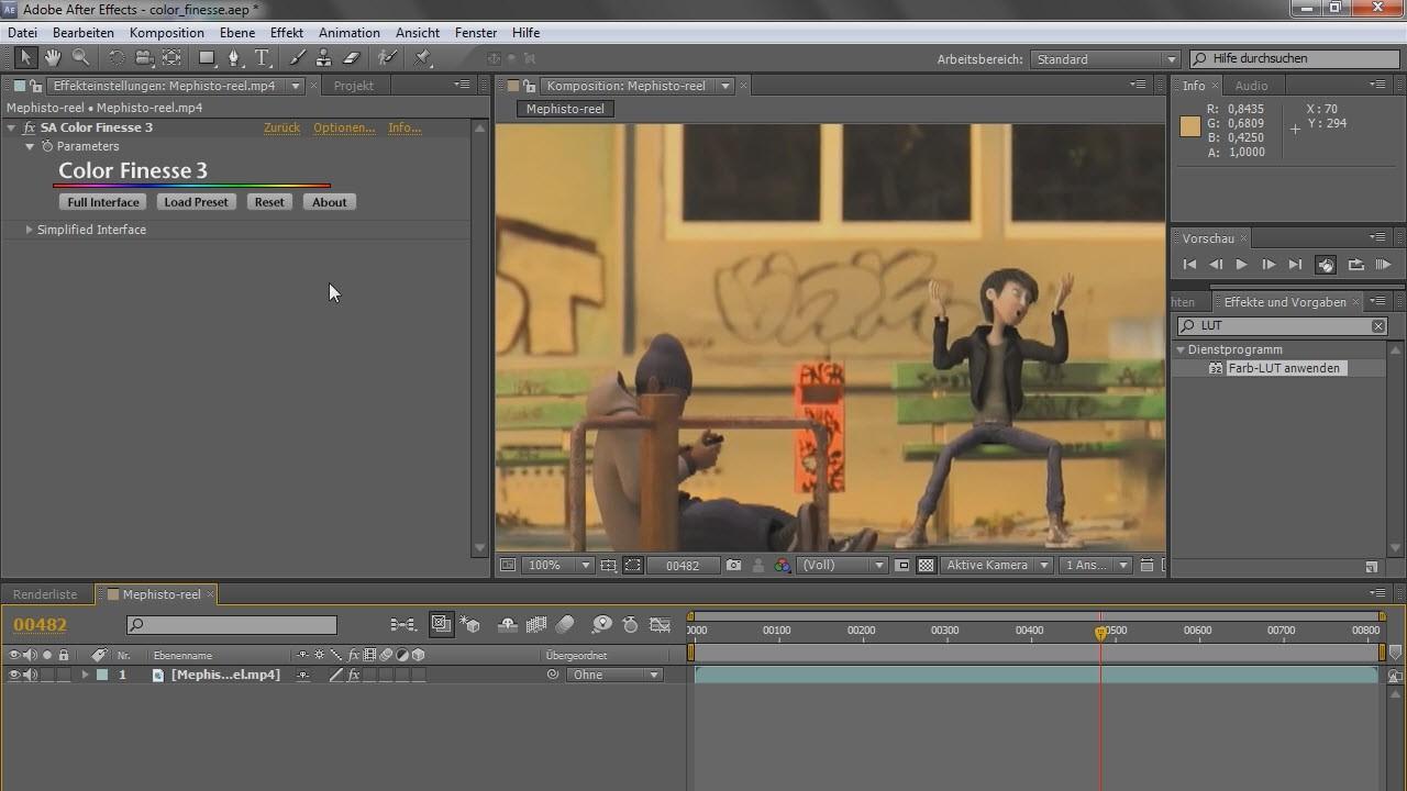 Adobe after effects как сделать на русском